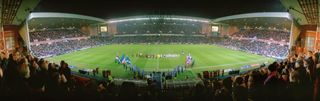 Rangers FC and paythru panoramic